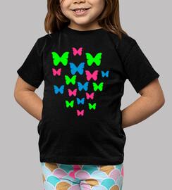 papillons de couleur