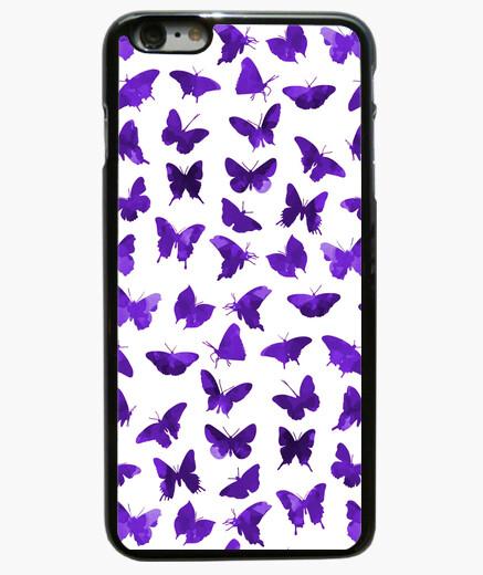 Coque Iphone 6 Plus / 6S Plus papillons pourpres