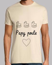 Papy poule - Grand-Père - Papi