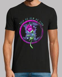 para hombre de la camisa de la flor mística