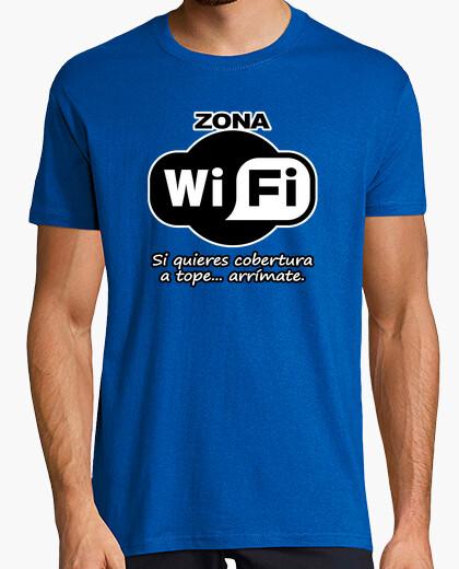 Camiseta para los que dan mucha cobertura