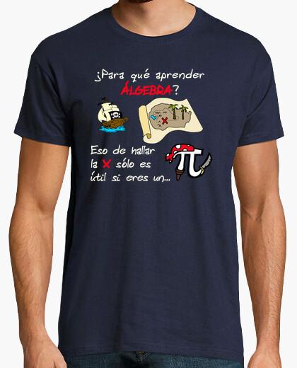 Camiseta ¿Para qué aprender Álgebra?