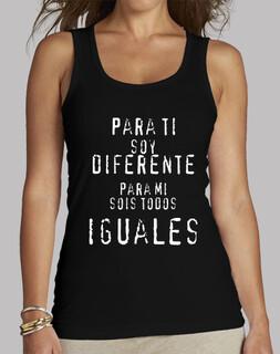 Para ti soy diferente...