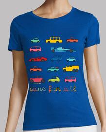 para todos los coches | las mujeres de manga corta