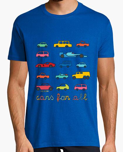Camiseta para todos los coches | los hombres de manga corta