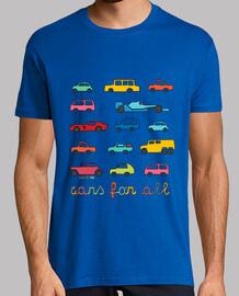 para todos los coches | los hombres de manga corta
