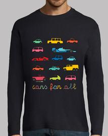 para todos los coches | manga larga hombres