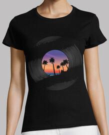paradise landscape on vinyl