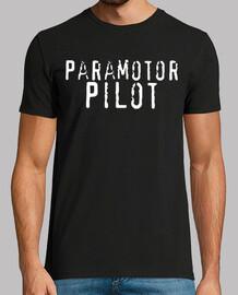 Paramotor Pilot blanco