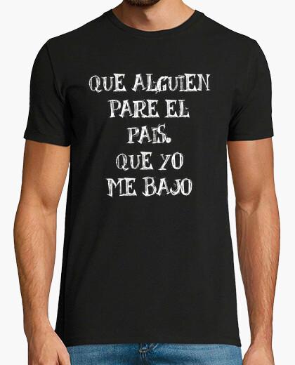 Camiseta Parar pais (H)