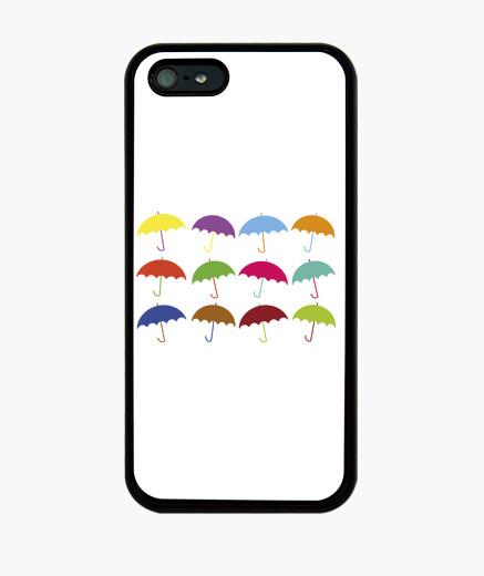 Coque iPhone parasols colorés
