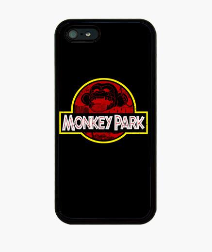 Coque iPhone parc de singe
