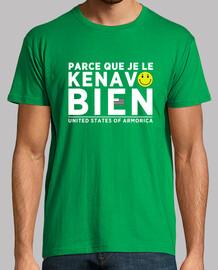 Parce que je le kenavo bien - T-shirt homme