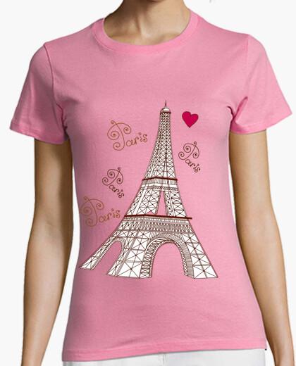 Camiseta Paris Classic Girl