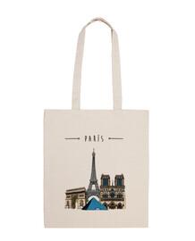 París, Tote bag