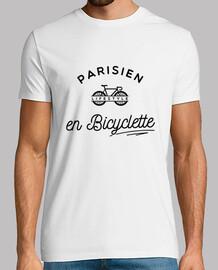 PARISIEN EN BICYCLETTE