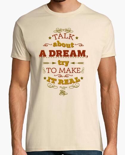T-shirt parlare di un sogno