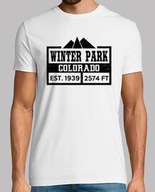 parque de invierno colorado