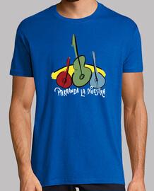 parrandera classic blue shirt