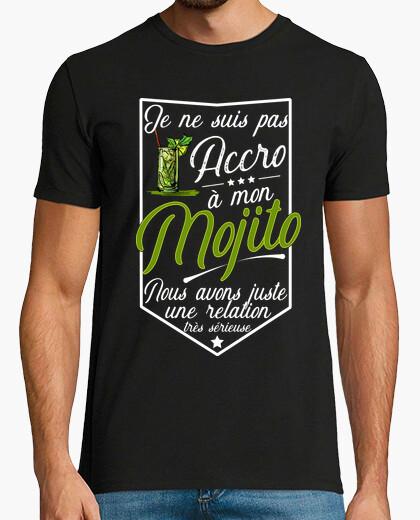 Tee-shirt Pas accro mojito