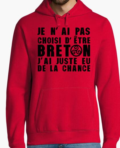 Sweat Pas choisi etre Breton juste eu Chance