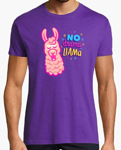 Tee-shirt pas de drame lama