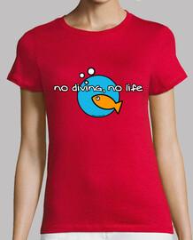pas de plongée pas de vie femme