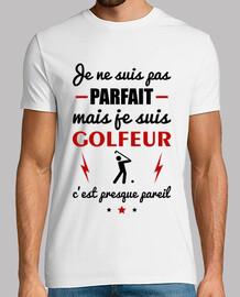 Pas parfait golfeur