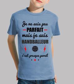 Pas parfait mais handballeur