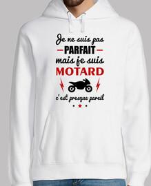 Pas parfait motard