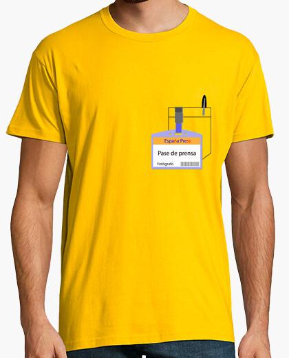 Camiseta Pase de prensa