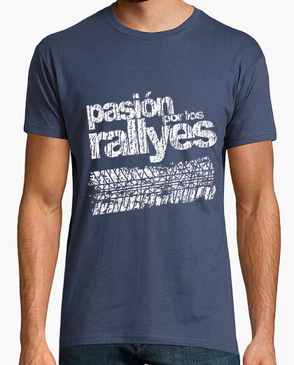 Camiseta PASION RALLYES BLANCA
