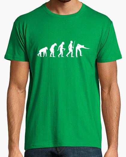 Camiseta paso de evolución de snooker