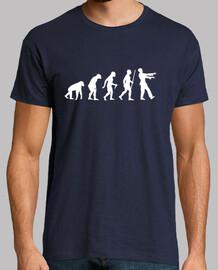 paso de evolución zombie