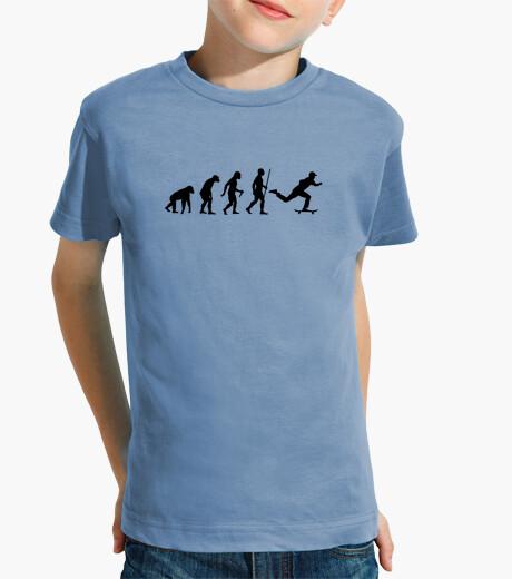 Abbigliamento bambino passo di evoluzione dello skateboard