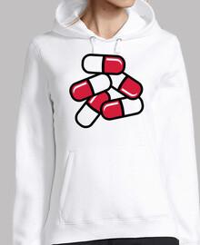 pastillas rojas medicina