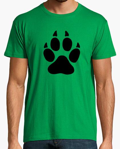 Camiseta pata de oso