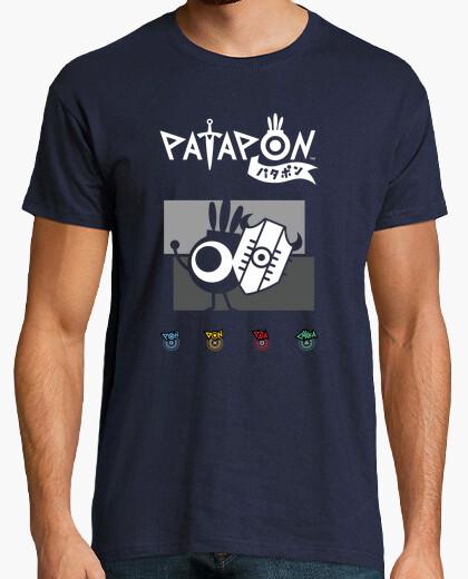Patapon shield v2 t-shirt