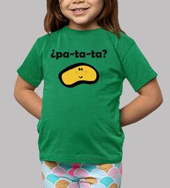 Patata (por detrás también hay dibujo)