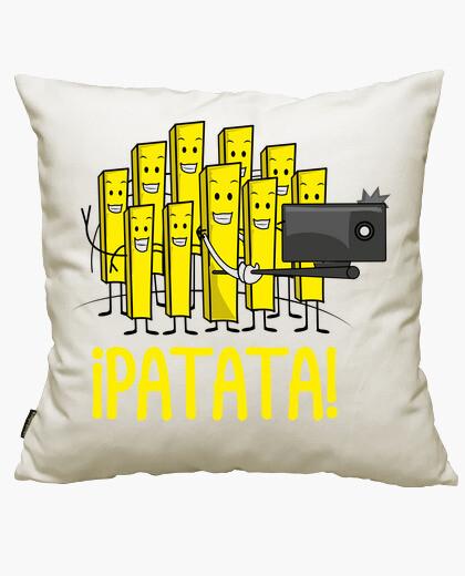 Funda cojín Patata selfie