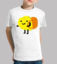 patata t-shirt per bambini