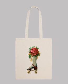 Patín floral vintage (bolsa 2)