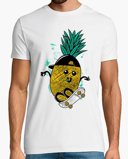 Camiseta patinaje de la piña
