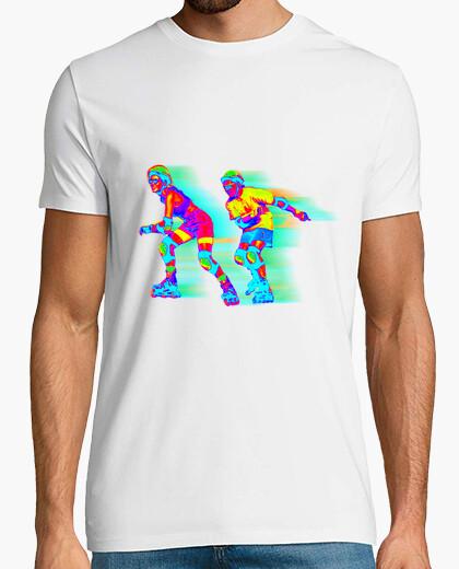 Camiseta patines cool 90