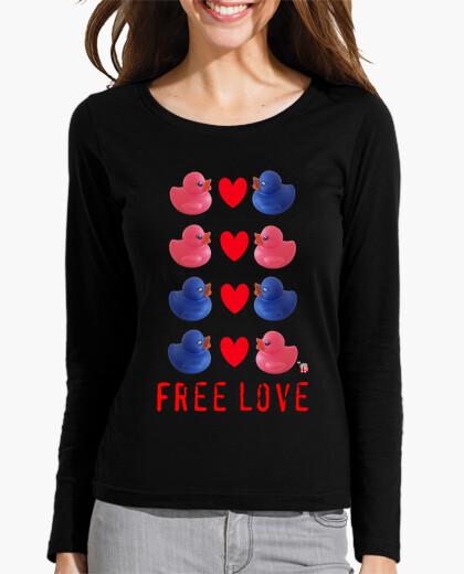 Camiseta Patitos Free Love by Popcorn