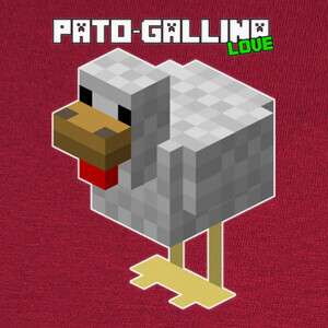 Pato-Gallina Love de TownGamePlay T-shirts