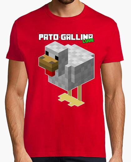 Camiseta Pato-Gallina Love de TownGamePlay (Hombre)