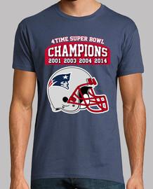 Patriots, Tom Brady (pecho y espalda)