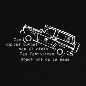 Camisetas Patroleras