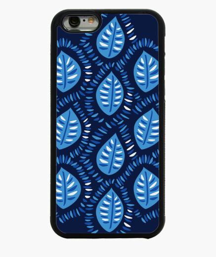 Funda iPhone 6 / 6S patrón bastante decorativo de hojas azules